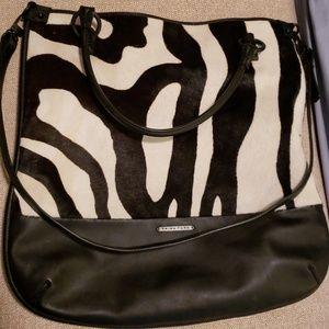 Trina Turk Manhattan Genuine Cow Hair Shoulder Bag